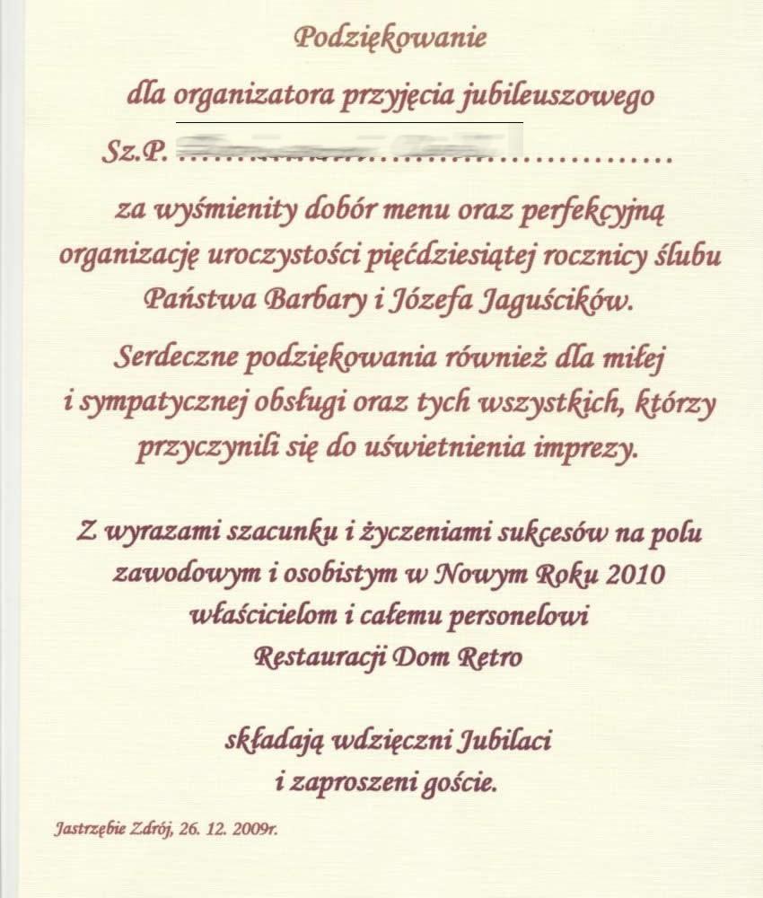 Dom Retro Restauracja Kuchnia Polska Z Elementami Kuchni